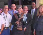 Congratulations to Cadet Colonel Gabriella Lopez from West Broward High School for Being Named  Broward County Cadet of the Year