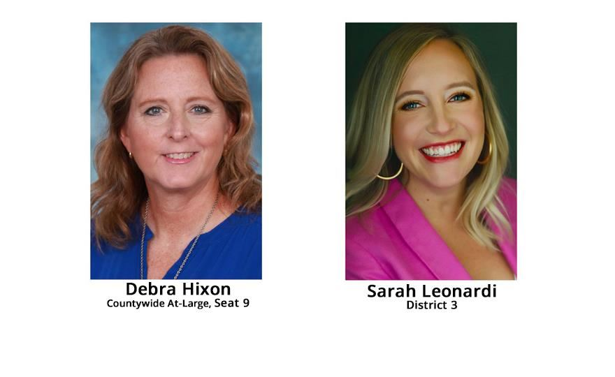 Debra Hixon and Sarah Leonardi