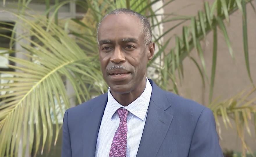 Superintendent Robert Runcie holds a Press Conference after Emergency Board Meeting