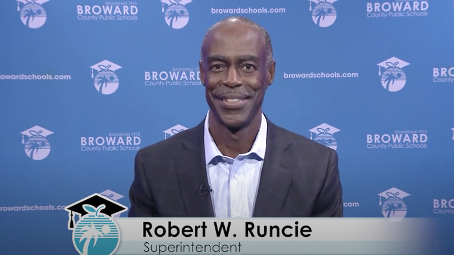 A Message for Superintendent Robert Runcie