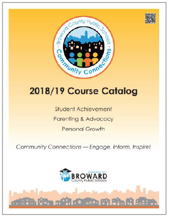 2018/19 Community Connections Course Catalog