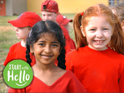 Pioneer Middle School Joins Schools Across BCPS and the Country for  Sandy Hook Promise's National Start With Hello Call-to-Action Week