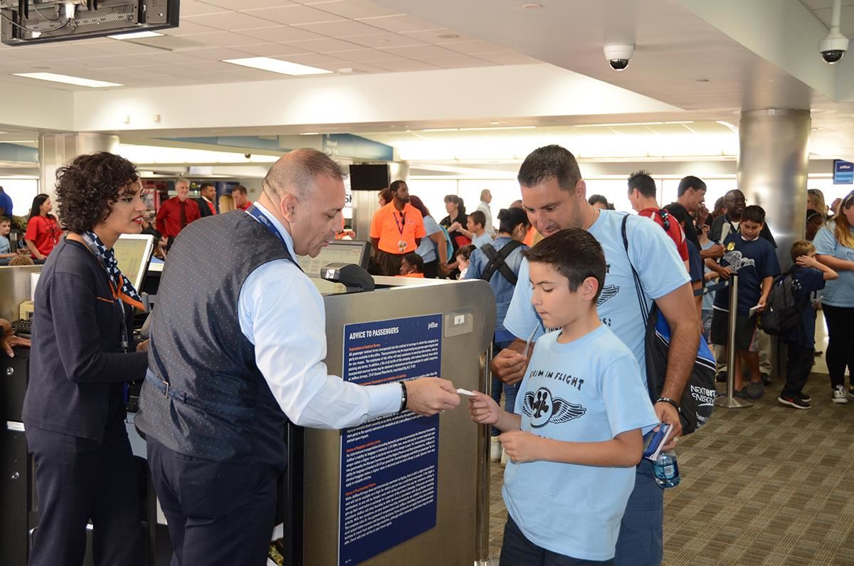 BCPS Students with Autism Practice the Travel Experience