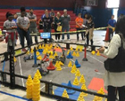 Watch BCPS Students Put their Skills to the Test During VEX Robotics Competitions