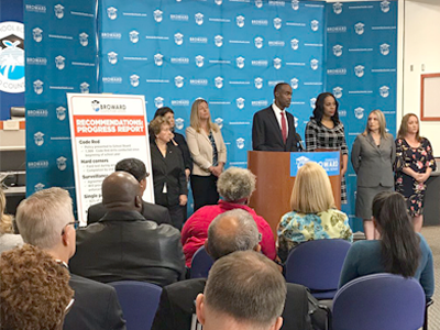 BCPS Provides Progress Report on Recommendations in  Marjory Stoneman Douglas High School Public Safety Commission Initial Report