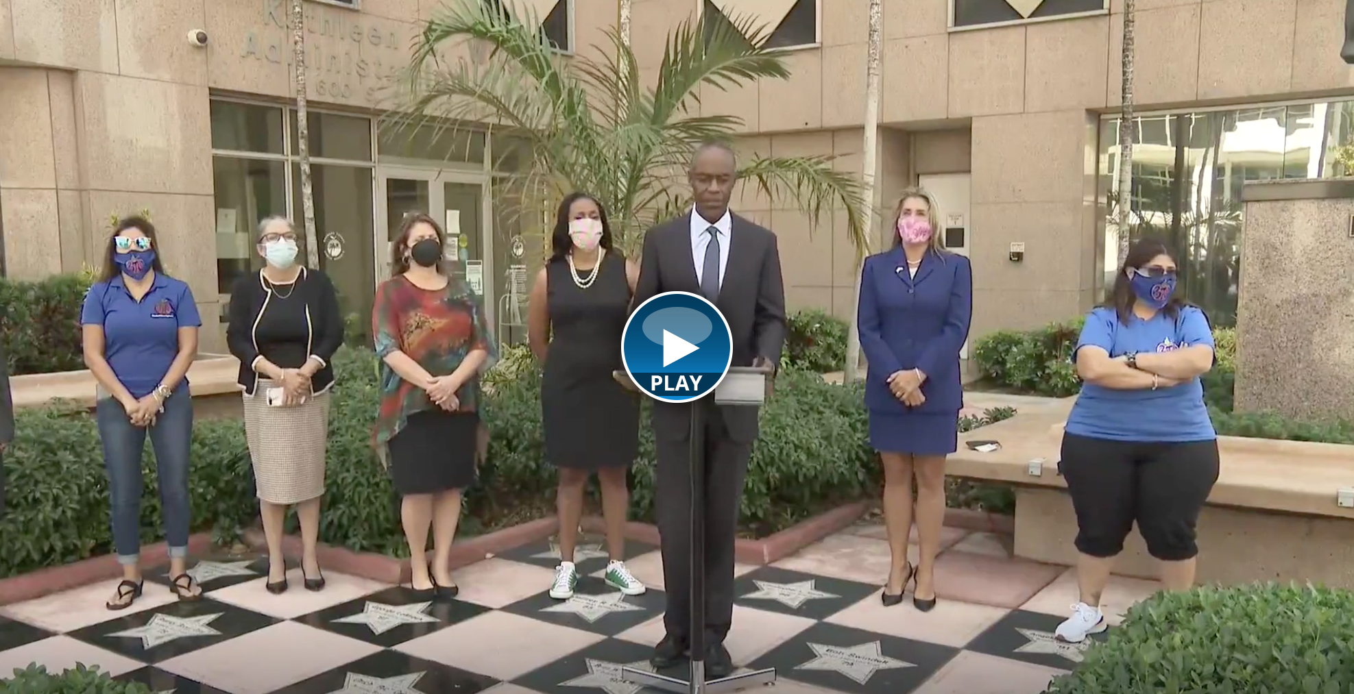 Broward County Public Schools and Broward Teachers Union hold joint news conference to announce tentative agreements for all three BTU bargaining units.