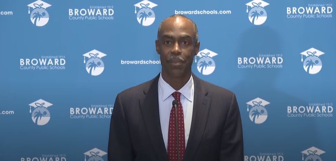 Superintendent Runcie held a news conference on Friday, October 9.