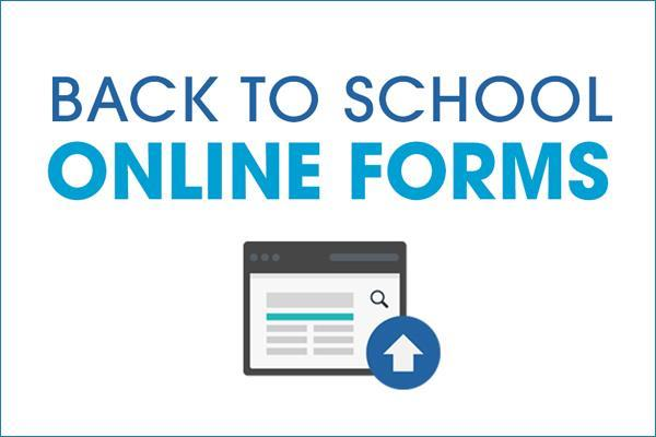 Back to School Forms 2018-2019