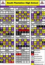 Flanagan High School Calendar 2021 School Schedule / South Plantation Schedule