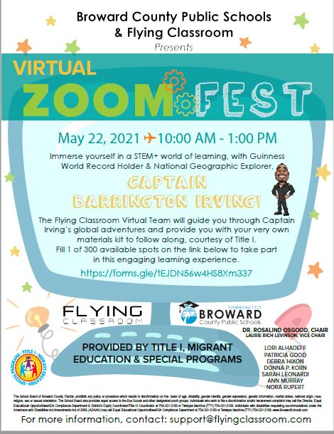 information on virtual zoom fest