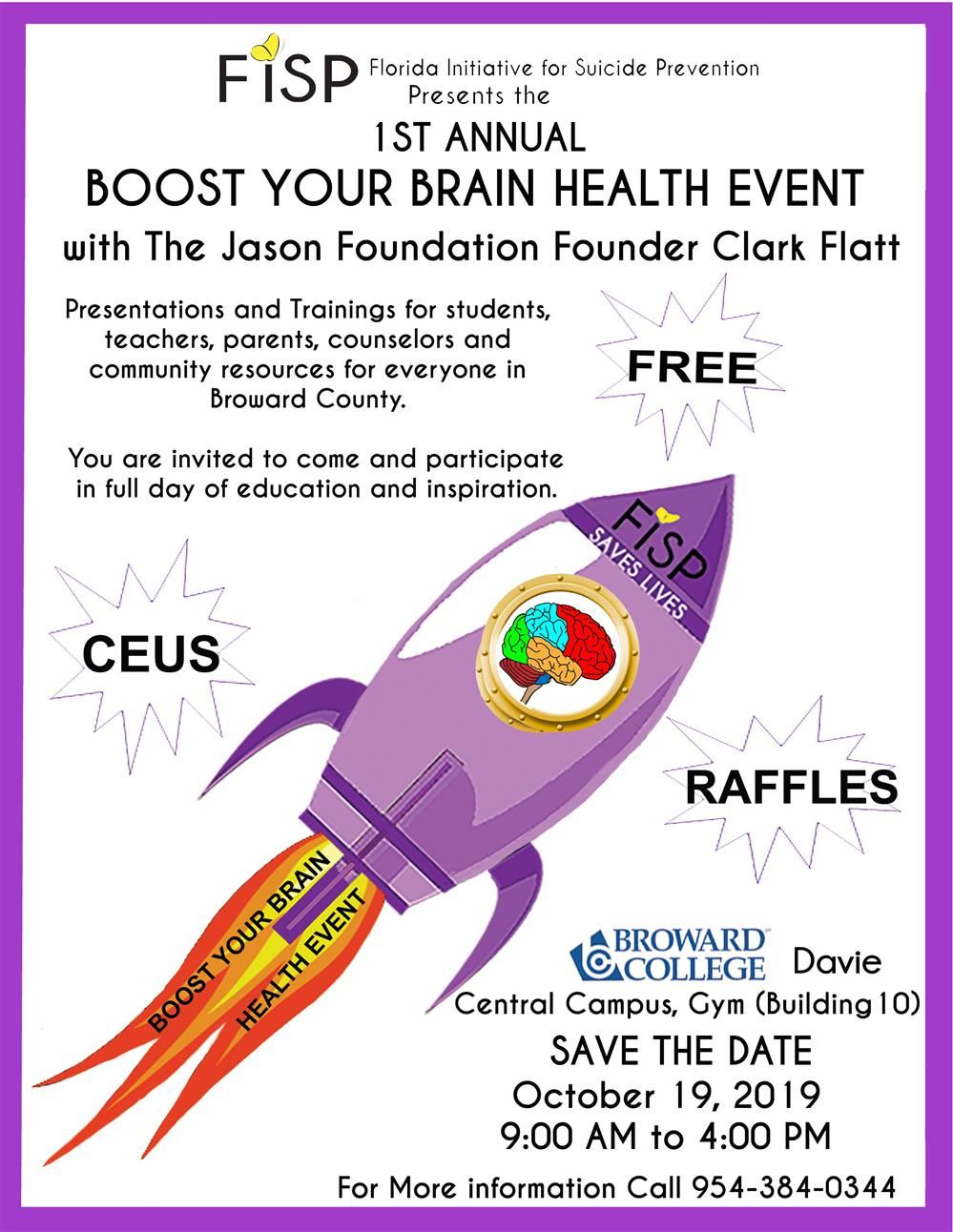Brain Boost flyer