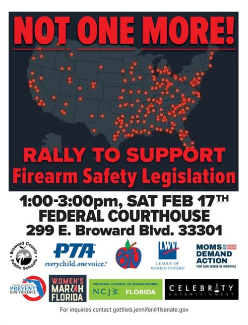 Not One More! Rally To Support 2/17/18