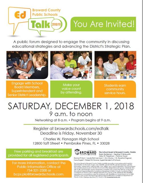 EDTALK Flyer