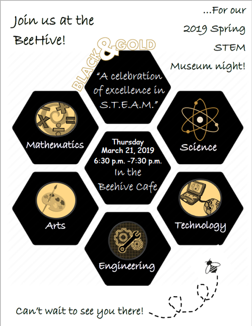 STEM Museum Night Flyer