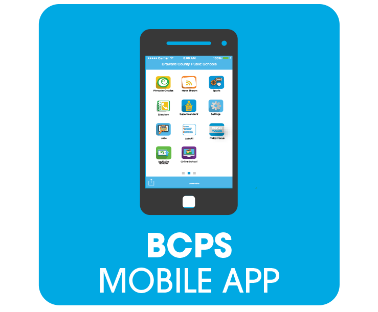 The BCPS Mobile App allows parents and families to stay connected in real time with information on s