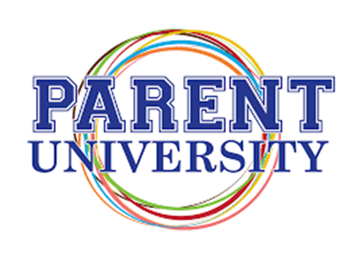 picture of word Parent University in color