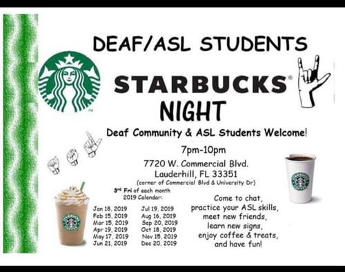 Deaf/ASL Community Meetings