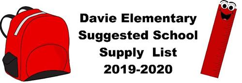 Supply List Heading