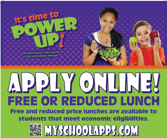 Apply Now Free & Reduced Lunch