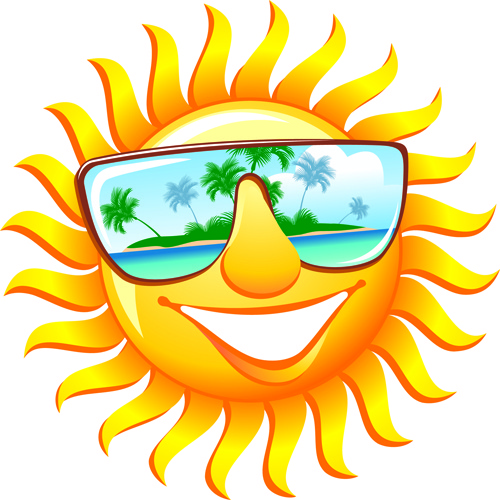 Summer Fun Sun Icon