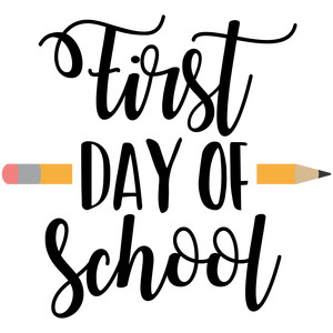 first day of school image