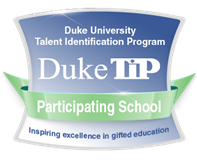 We're proud to be a Duke TIP Participating School