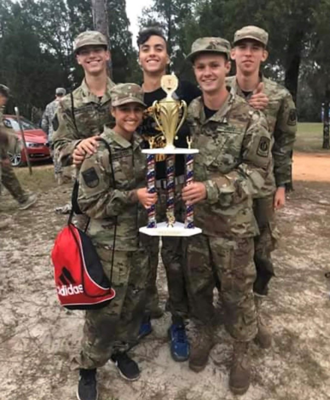JROTC Mixed raider competition photo