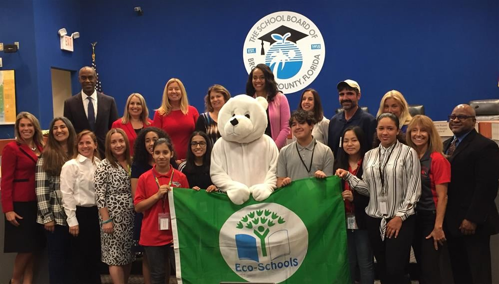 Driftwood Middle School Earns Prestigious Green Flag EcoSchool Award