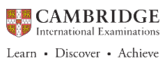 Cambridge International - opens in a new window