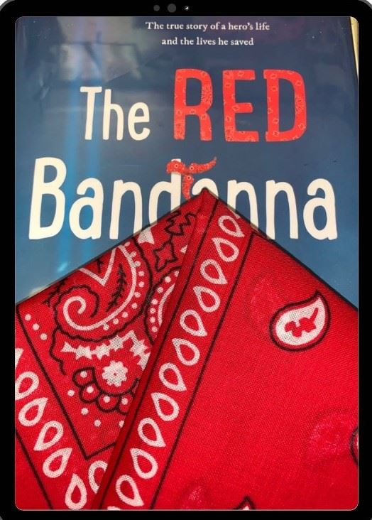 red bandanna book logo