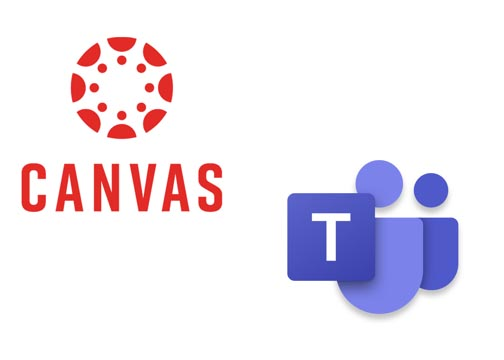 Canvas and Teams Logos