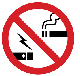 Message about electronic cigarettes