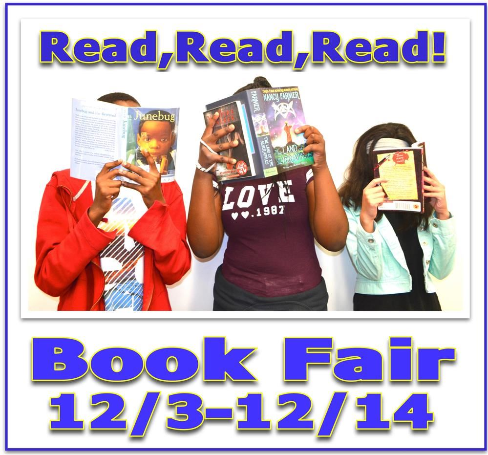 Book Fair is 12/3-12/14! Be Sure to Encourage Your Child to Purchase a Great Book!