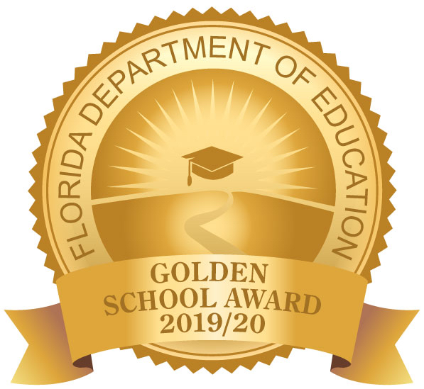 We won the Golden School award from the State of Florida,  for our excellence in including parents and the school community in our planning and actitities. Go Spartans!