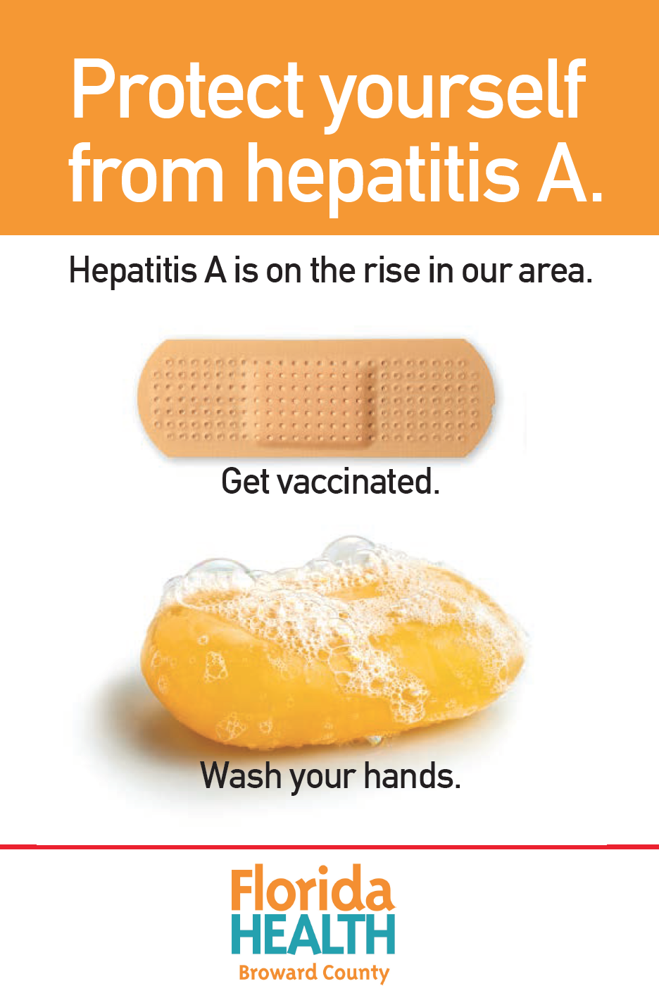 Hepatitis A is on the rise. See information on clickthrough page for prevention.