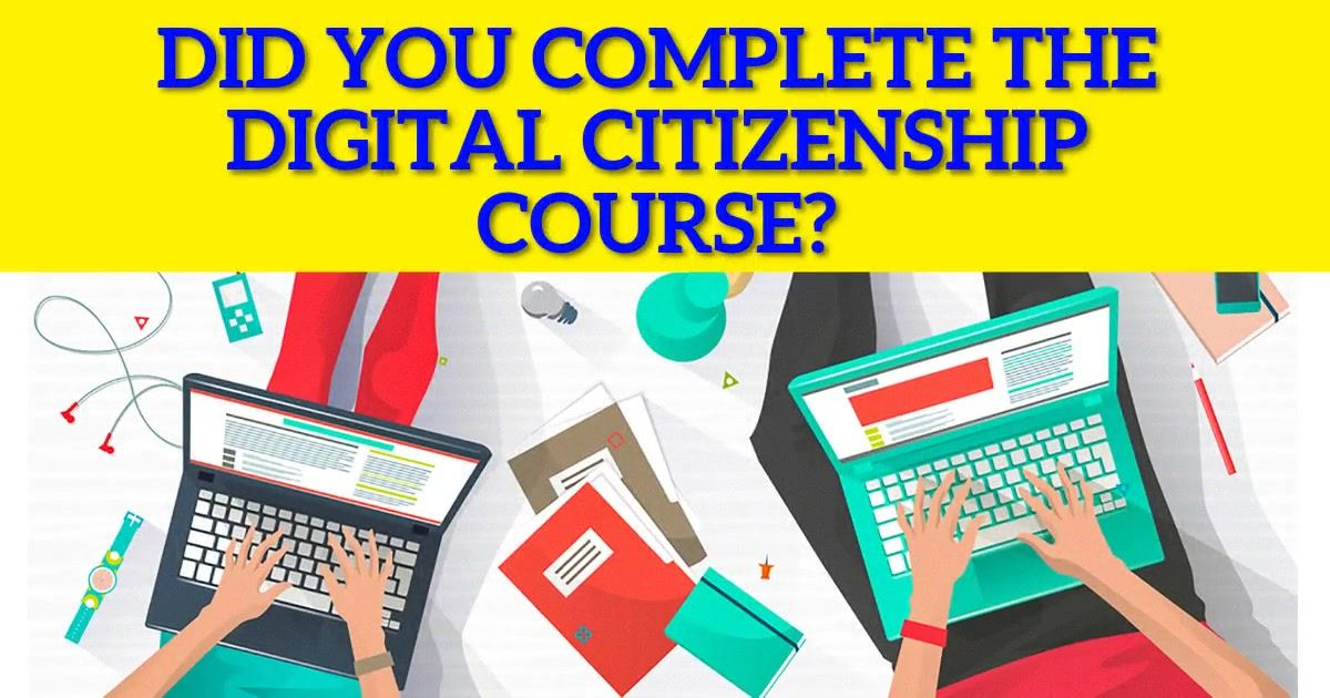 Digital Citizenship Course