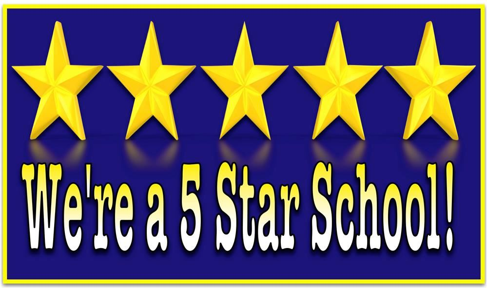 We are a 5 Star School