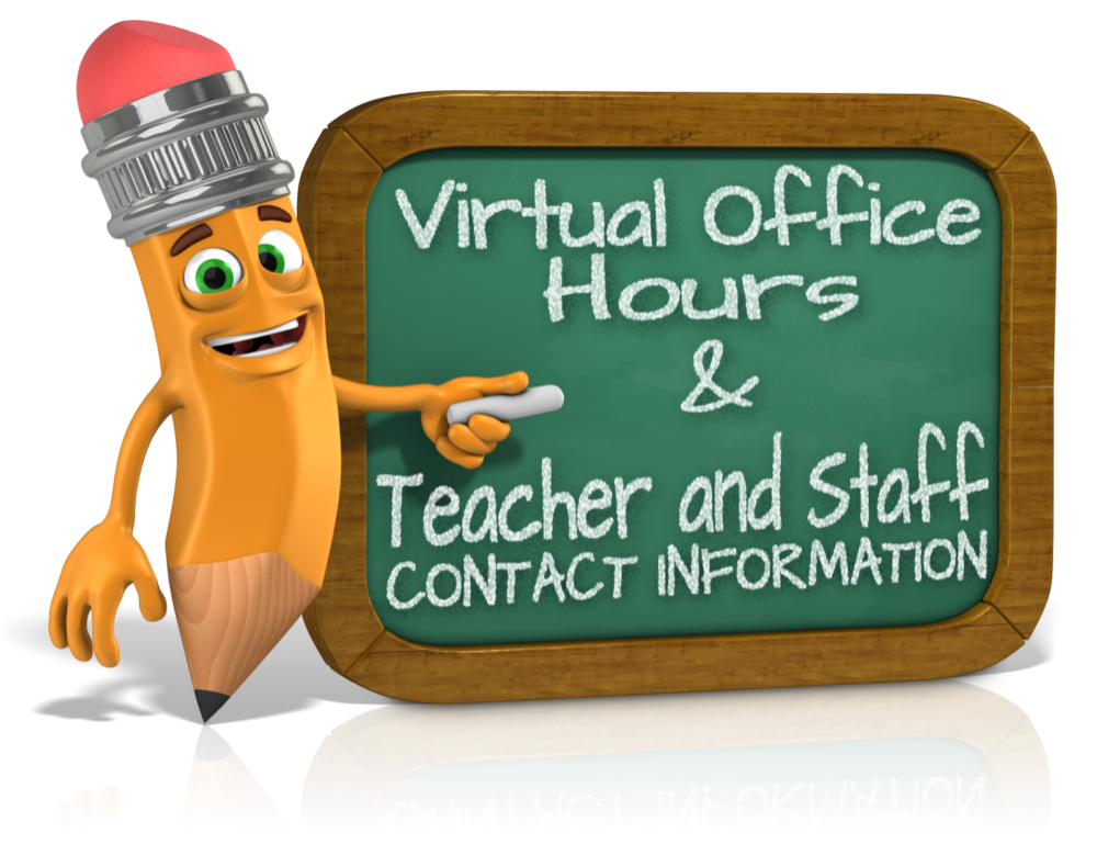 Your teacher has office hours, Monday through Friday. Click onto this link and see when you teacher is online, just waiting to help you!