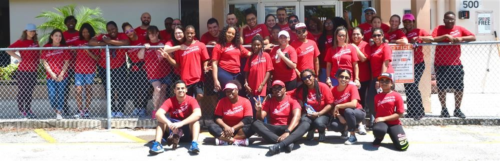 Our Business Partners help us with the BUSINESS OF PROVIDING AN EXCELLENT EDUCATIONAL ENVIRONMENT! Thanks. Wells Fargo Bank (Margate & Tamarac Branches) for the recent beautification project.