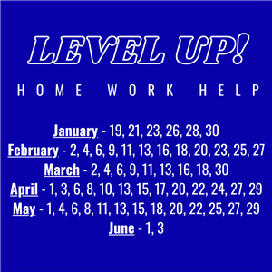 Level Up? Home Work Help