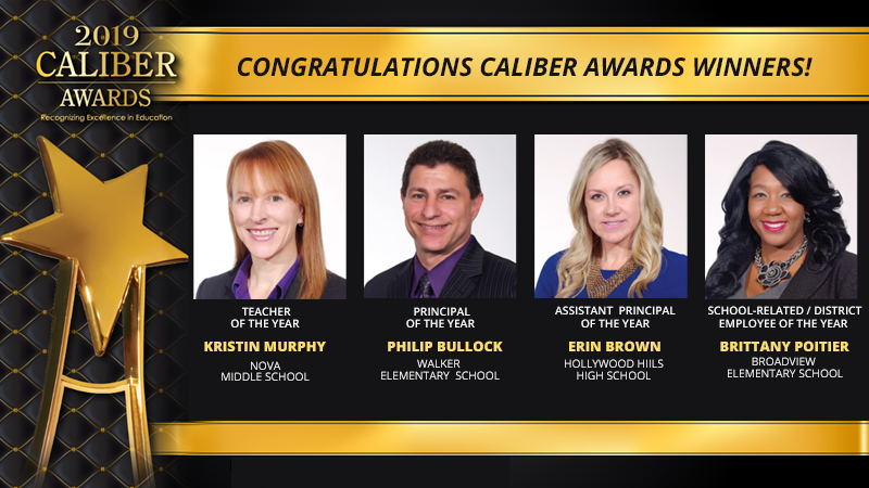 Caliber Awards Winners for 2019