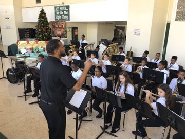 Band playing for NBC 6