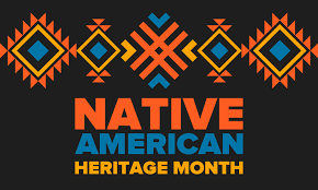 Native American Heritage Month Banner