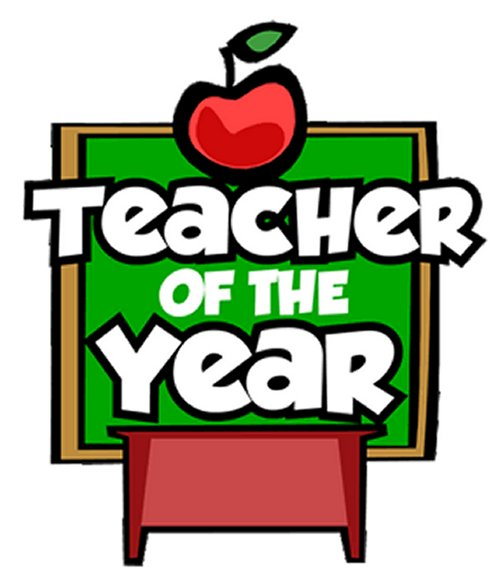 Teacher of the year photo