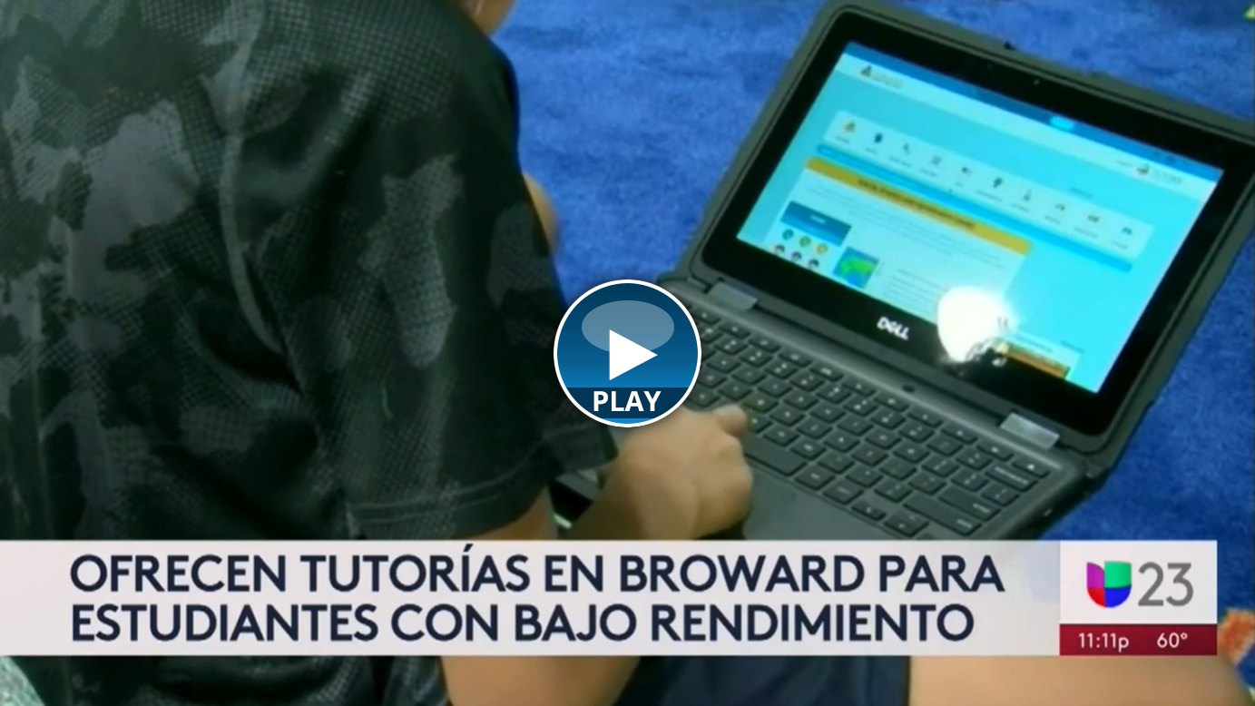 Broward Schools Push Free Online Tutoring to Get Kids Back on Track