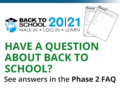 Have a question about back to school?
