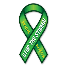 Mental Health Awareness Ribbon Image