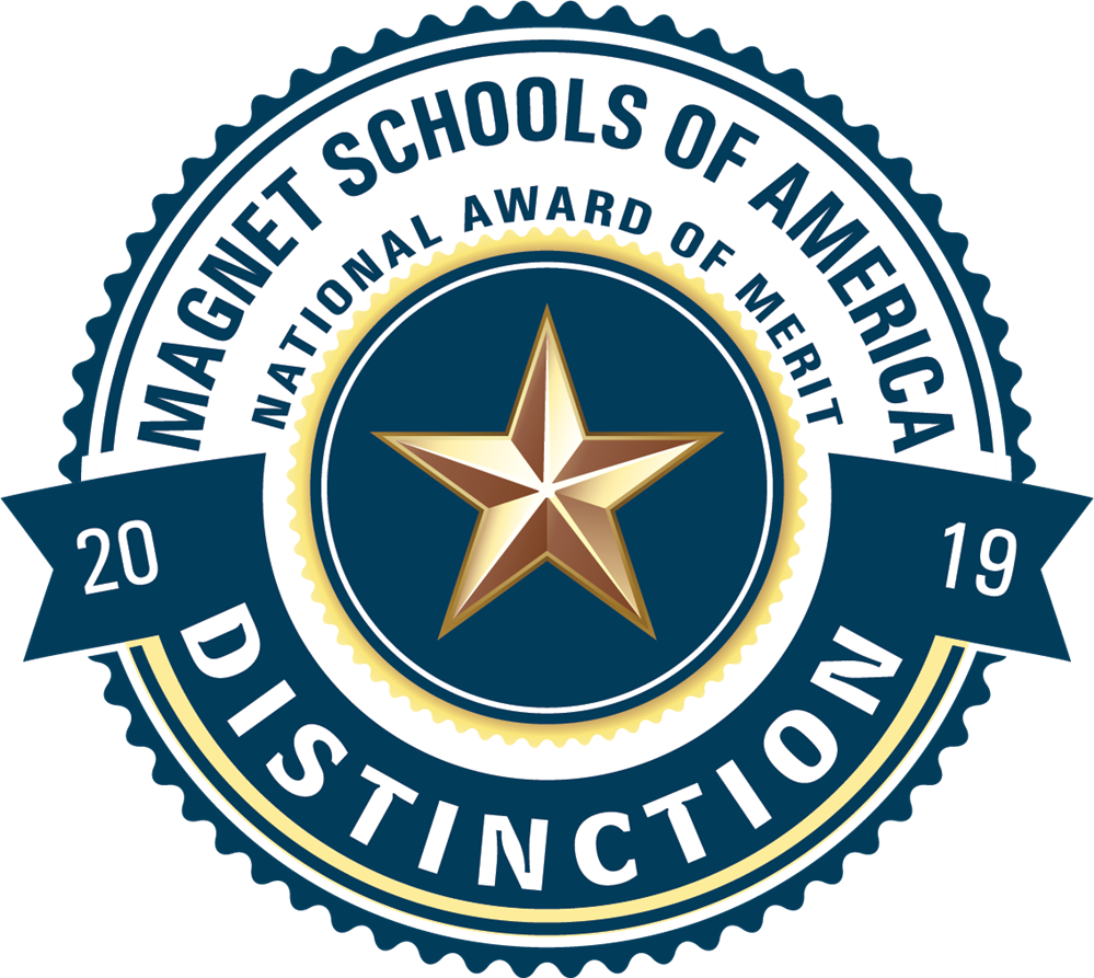 "Plantation Middle School Awarded the 2019 Magnet Schools of America ""Magnet School of Distinction"" Award!"