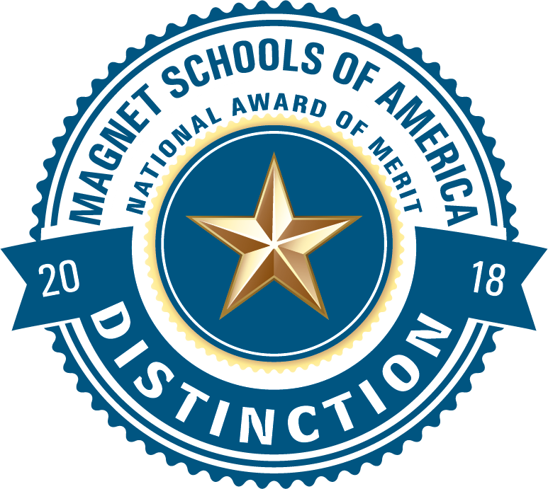 "Plantation Middle School Awarded the 2018 Magnet Schools of America ""Magnet School of Distinction"" Award!"
