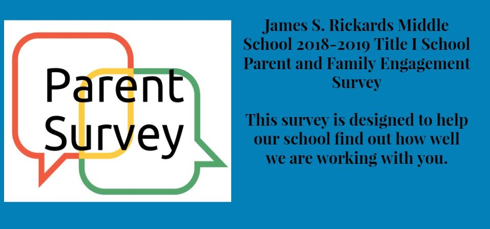 Title 1 Parent Survey